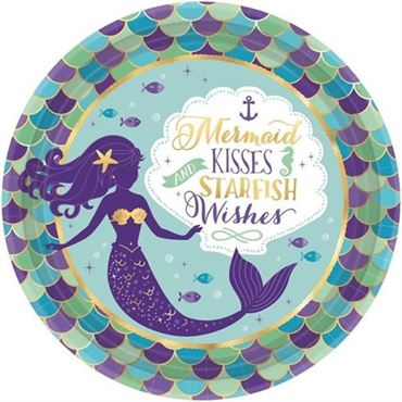 Picture for category Mermaid Wishes Partyware