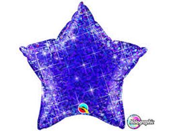 Picture of PURPLE STAR HOLOGRAPH 20 INCH