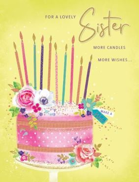Picture for category Sister Birthday Cards