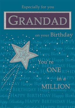Picture for category Grandad Birthday Cards