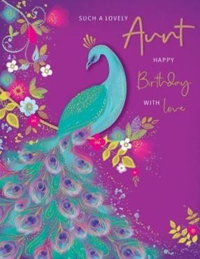Picture for category Auntie Birthday Cards