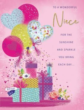 Picture for category Niece Birthday Cards