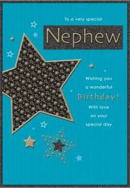 Picture for category Nephew Birthday Cards