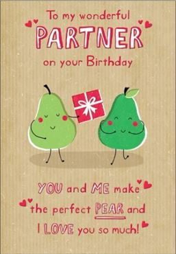 Picture for category Partner Birthday Cards