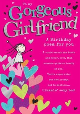 Picture for category Girlfriend Birthday Cards