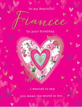 Picture for category Fiancee Birthday Cards