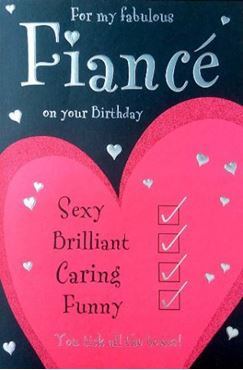 Picture for category Fiance Birthday Cards