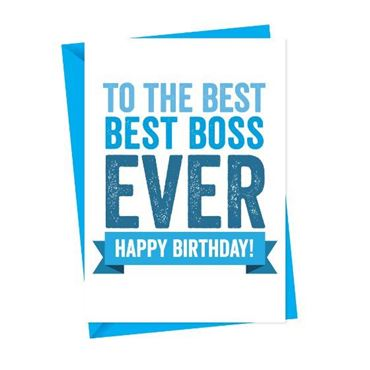 Picture for category Boss Birthday Cards