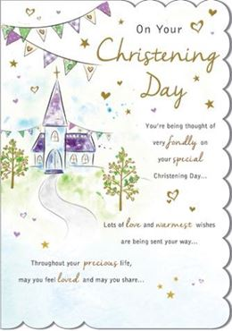 Picture for category Christening Cards