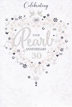 Picture for category Pearl Anniversary Cards