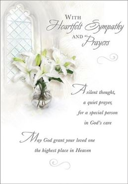 Picture for category Sympathy Cards