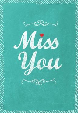 Picture for category Miss You Cards