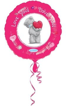 Picture of ME TO YOU LOVE YOU FOIL BALLOON 18INCH