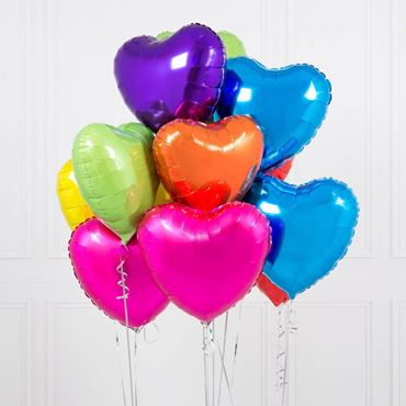 Picture for category Heart Shaped Foil Balloons