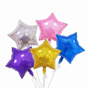 Picture for category Star Shaped Foil Balloons