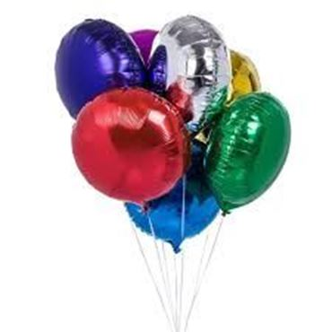 Picture for category Round Shaped Foil Balloon