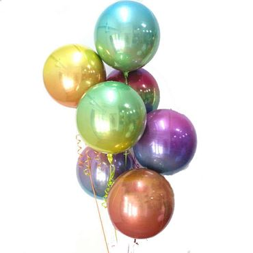 Picture for category Orbz Shaped Foil Balloon