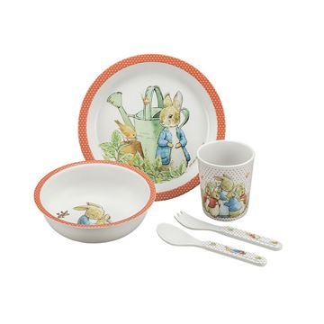 Picture of BAMBOO DINNER SET RABBIT