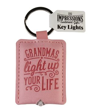 Picture of GRANDMAS LIGHT UP YOUR LIFE KEYRING