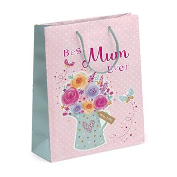 Picture of BEST MUM EVER LARGE GIFT BAG