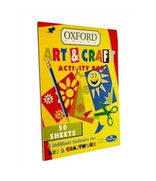 Picture of A4 ACTIVITY PAD COLOURED X50