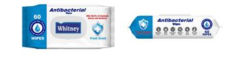 Picture of ANTIBACTERIAL WIPES X60PCS