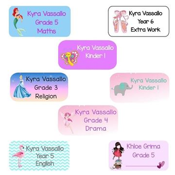 Picture of Labels for Girls
